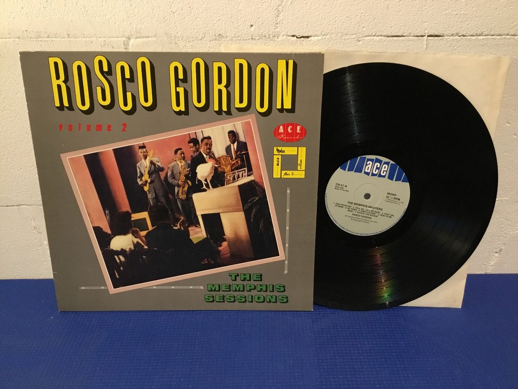 Rosco Gordon - The Memphis Sessions Volume 2 UK Orig-82 TOPPEX !!!!!