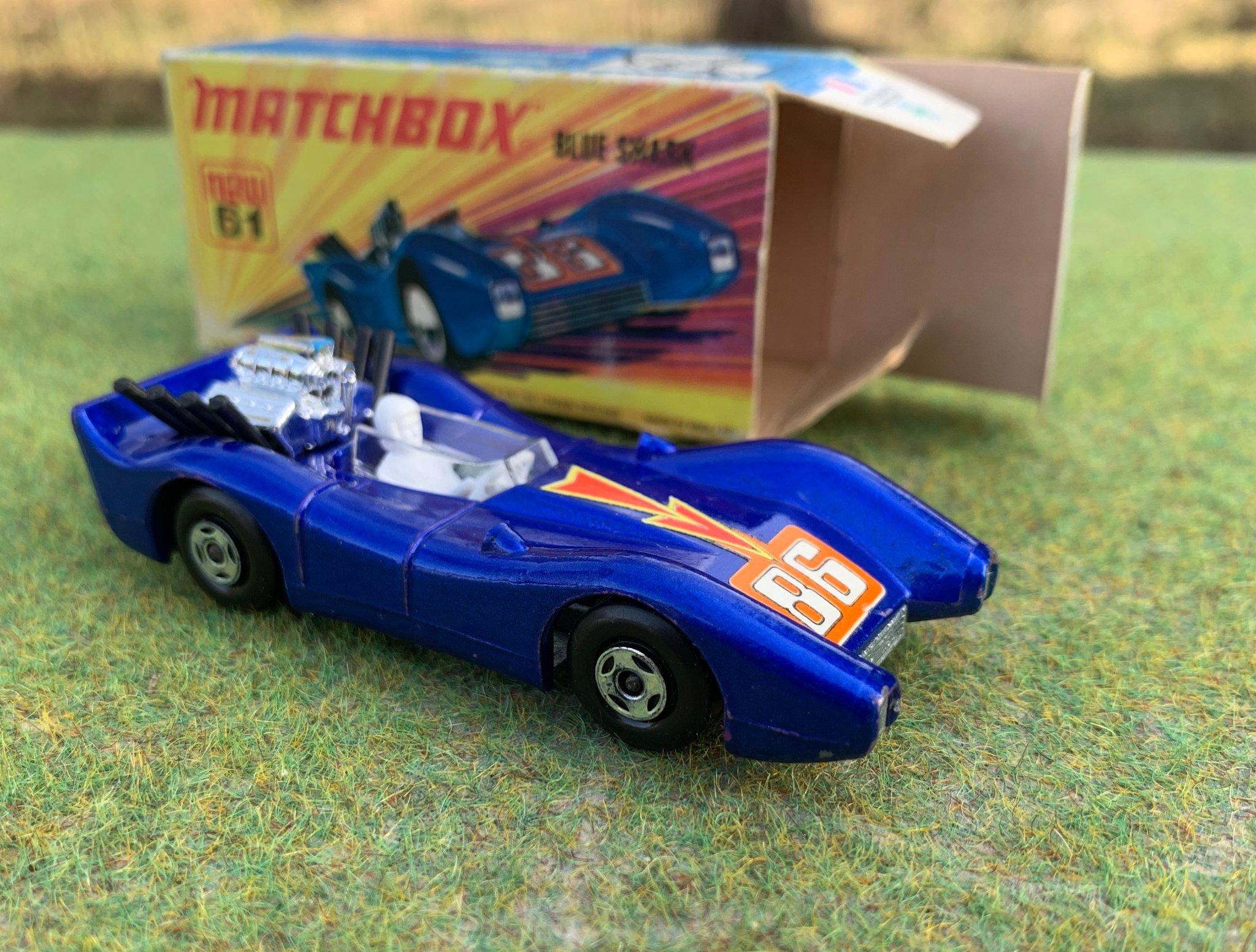 Matchbox 50th Anniversary Superfast Blue Shark