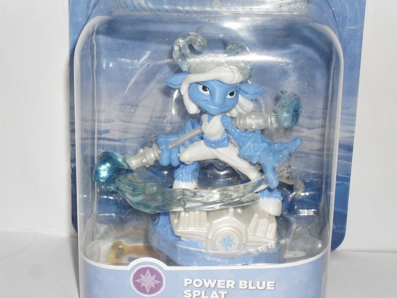 Skylanders Superchargers Förare Power blue splat oöppnad
