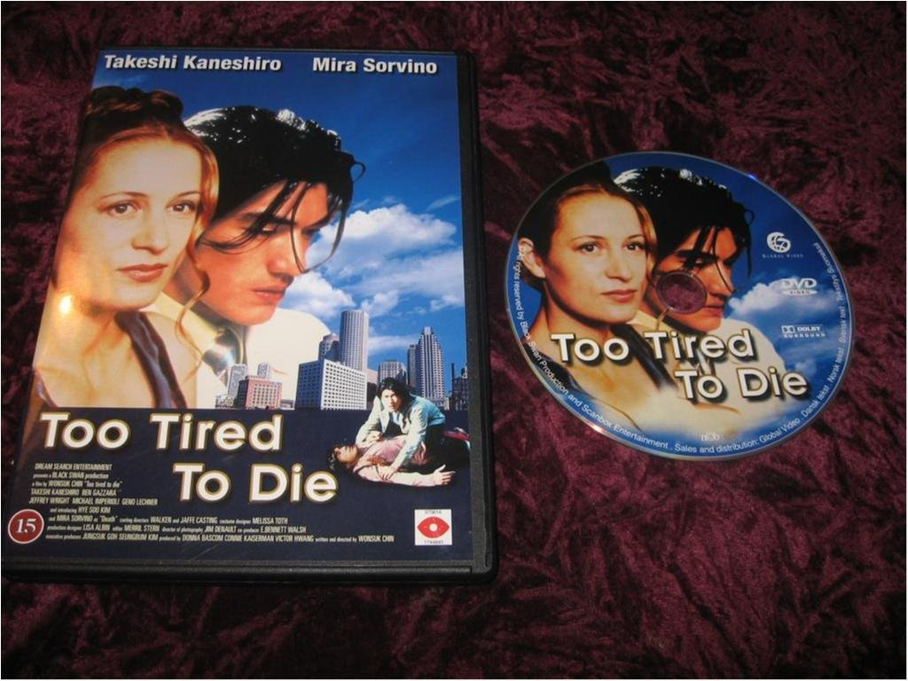 TOO TIRED TO DIE (TAKESHI KANESHIRO,MIRA SORVINO)DVD REG2