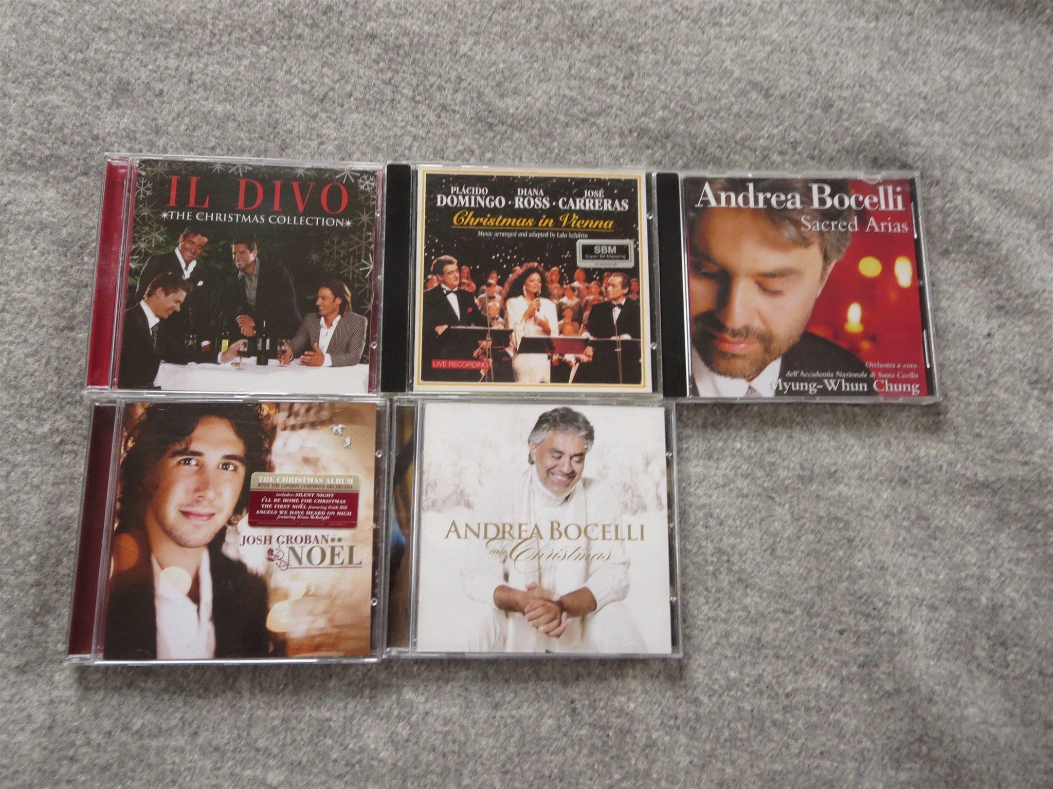 5st cd. ANDREA BOCELLI.JOSH GROBAN.IL DIVO. DIA.. (325806063) ᐈ Köp ...