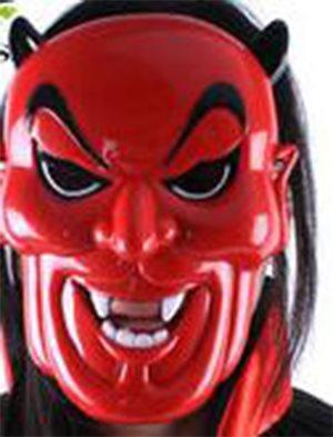 Djävuls mask  maskerad  halloween (336290843) ᐈ silverbullet på Tradera 5f938d6d23723