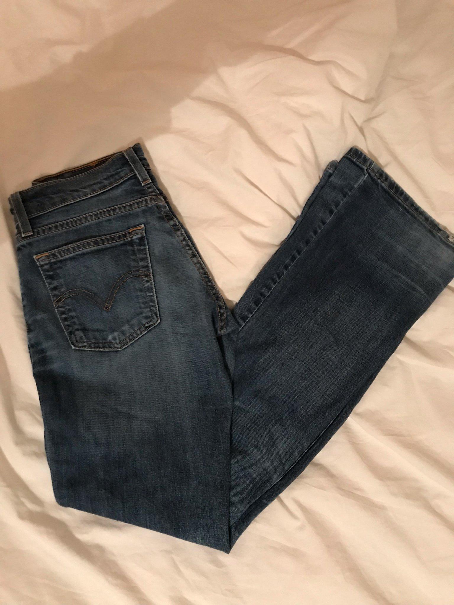 adb9123f7a5 Snygga jeans från Levis storlek 26/32 (347618279) ᐈ Köp på Tradera