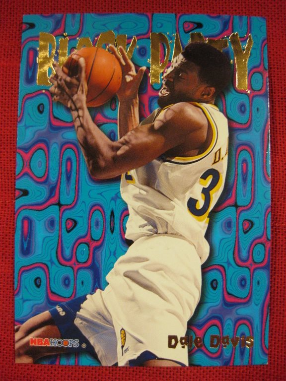DALE DAVIS - BLOCK PARTY - SKYBOX NBA HOOPS 1995 - BASKET
