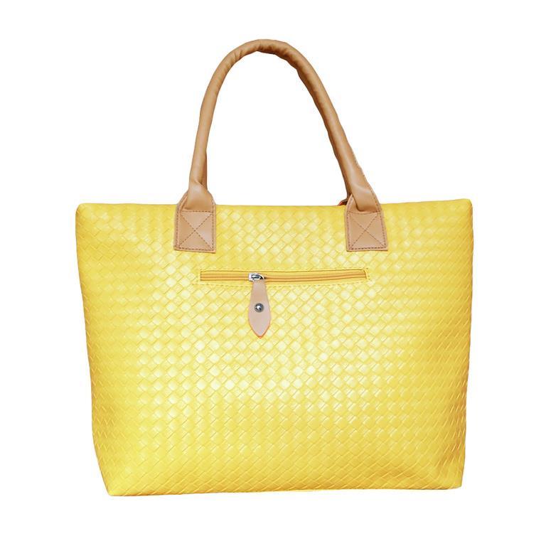 Handväska Gul : Handv?ska dam tote gul p? tradera handv?skor i tyg