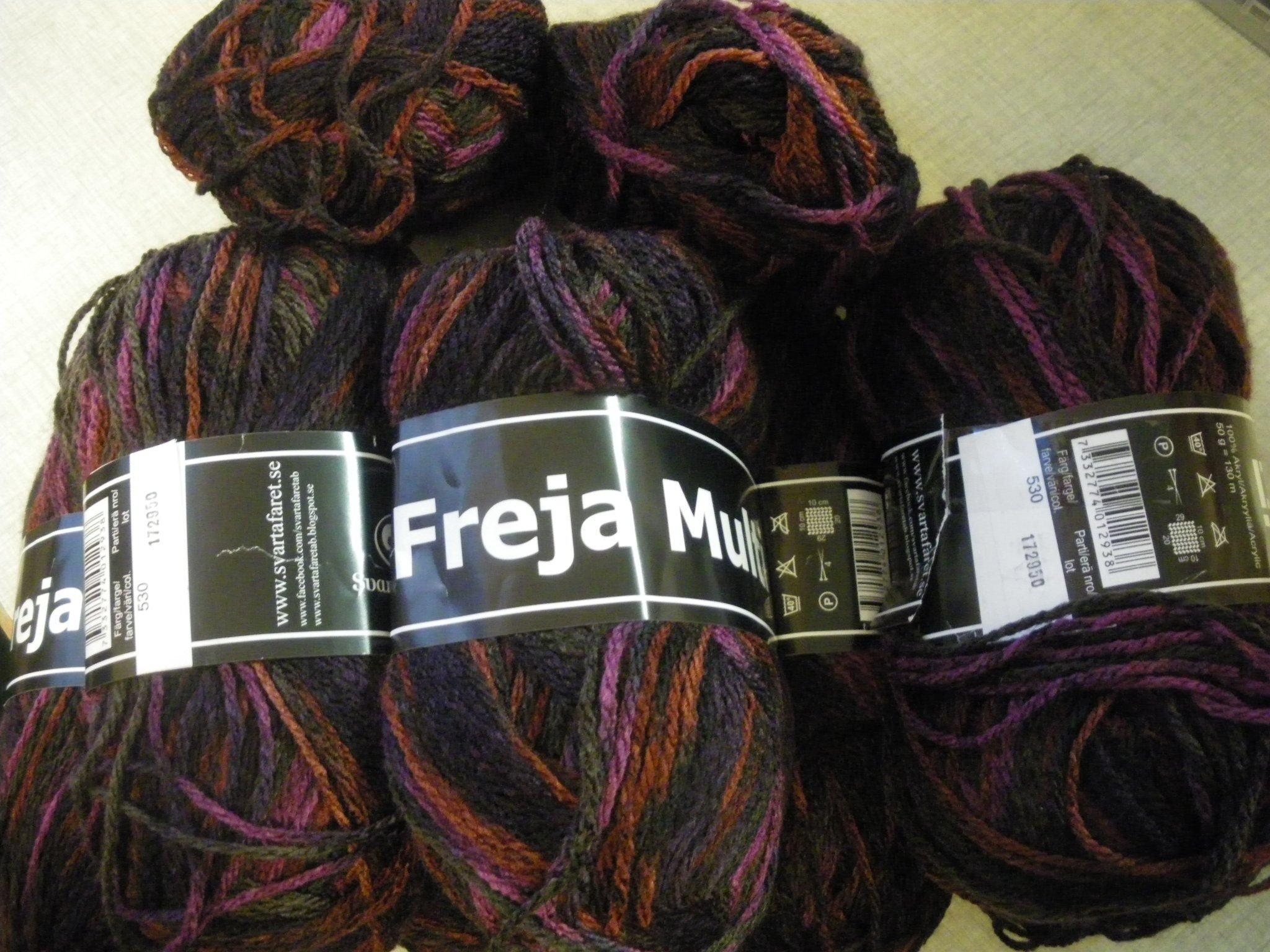 81f0c401b6f Freja multifrån Svarta fåret. 450 g (349813150) ᐈ sytant på Tradera