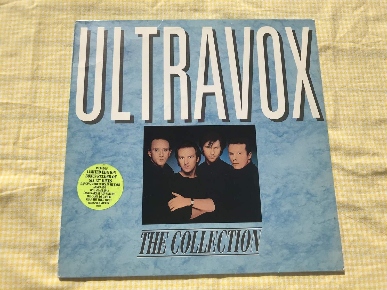 Ultravox The Collection Lp Bonus 12 Quot 1984 355675207