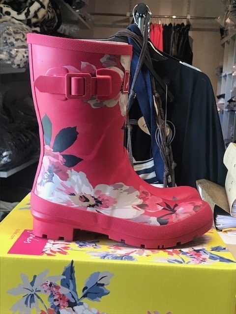 HELT NYA Joules Mollywely Mid-height rainboot strl 37