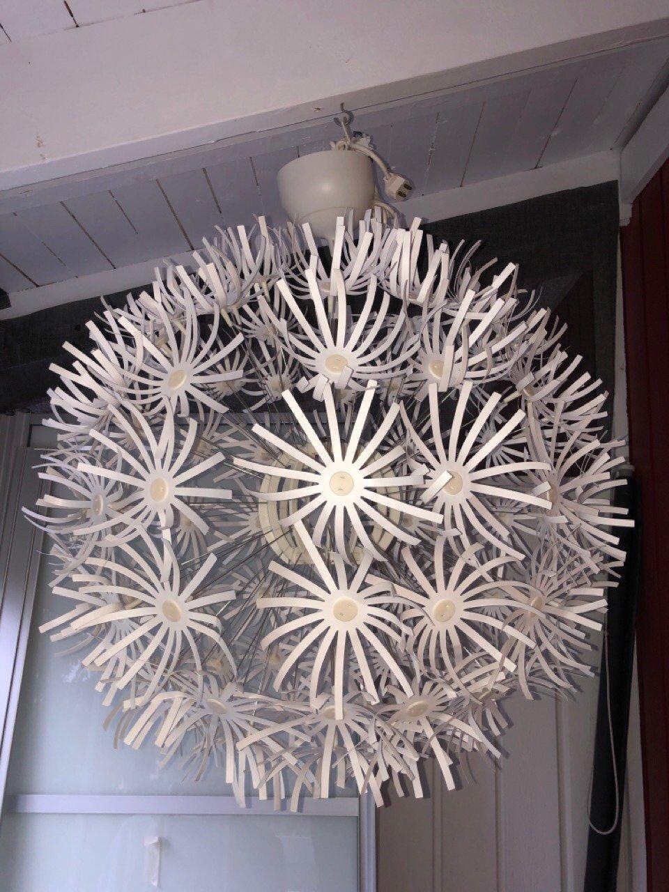 Lampa maskros Ikea (423975226) ᐈ Köp på Tradera