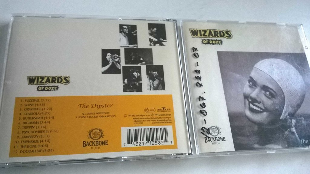 Wizards Of Ooze - The Dipster, CD, Album
