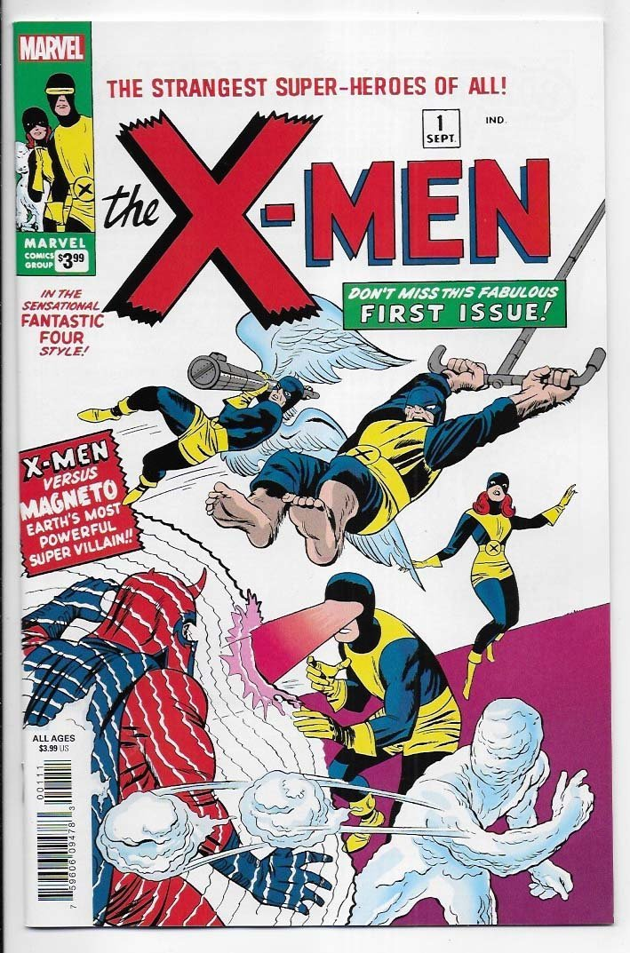 X-Men # 1 Facsimile Edition NM Ny Import 1st X-Men