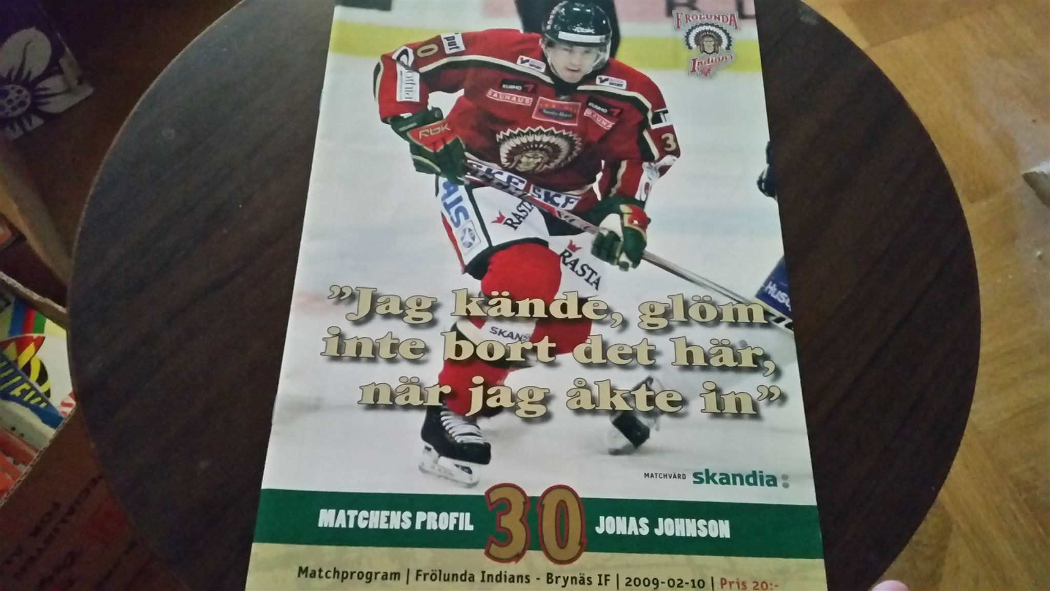 Elitserien 2009 11 22 9