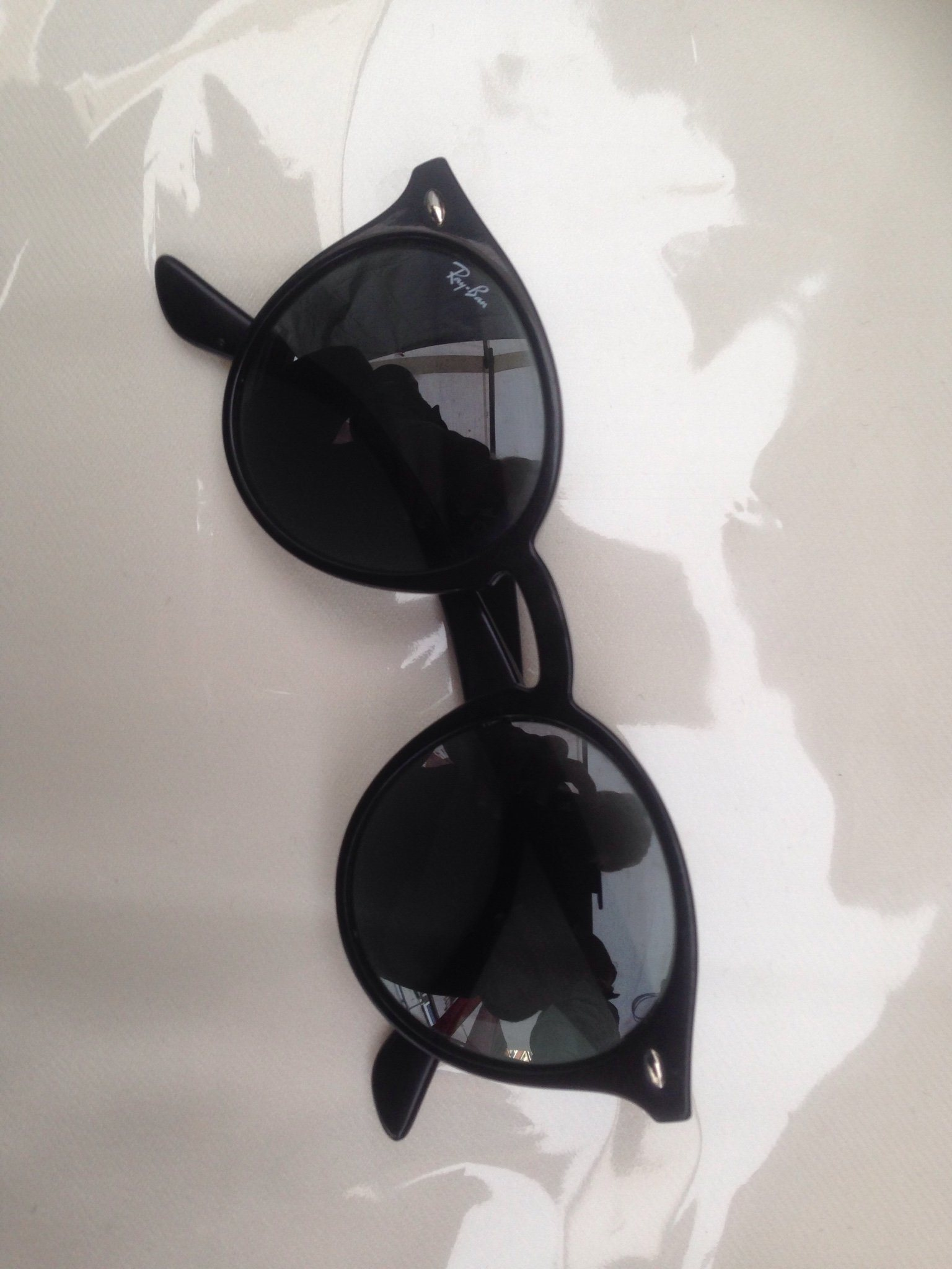 d84b9f113eda05 Äkta Ray-Ban solglasögon Svarta Modell RB2180 (340315373) ᐈ Köp på ...