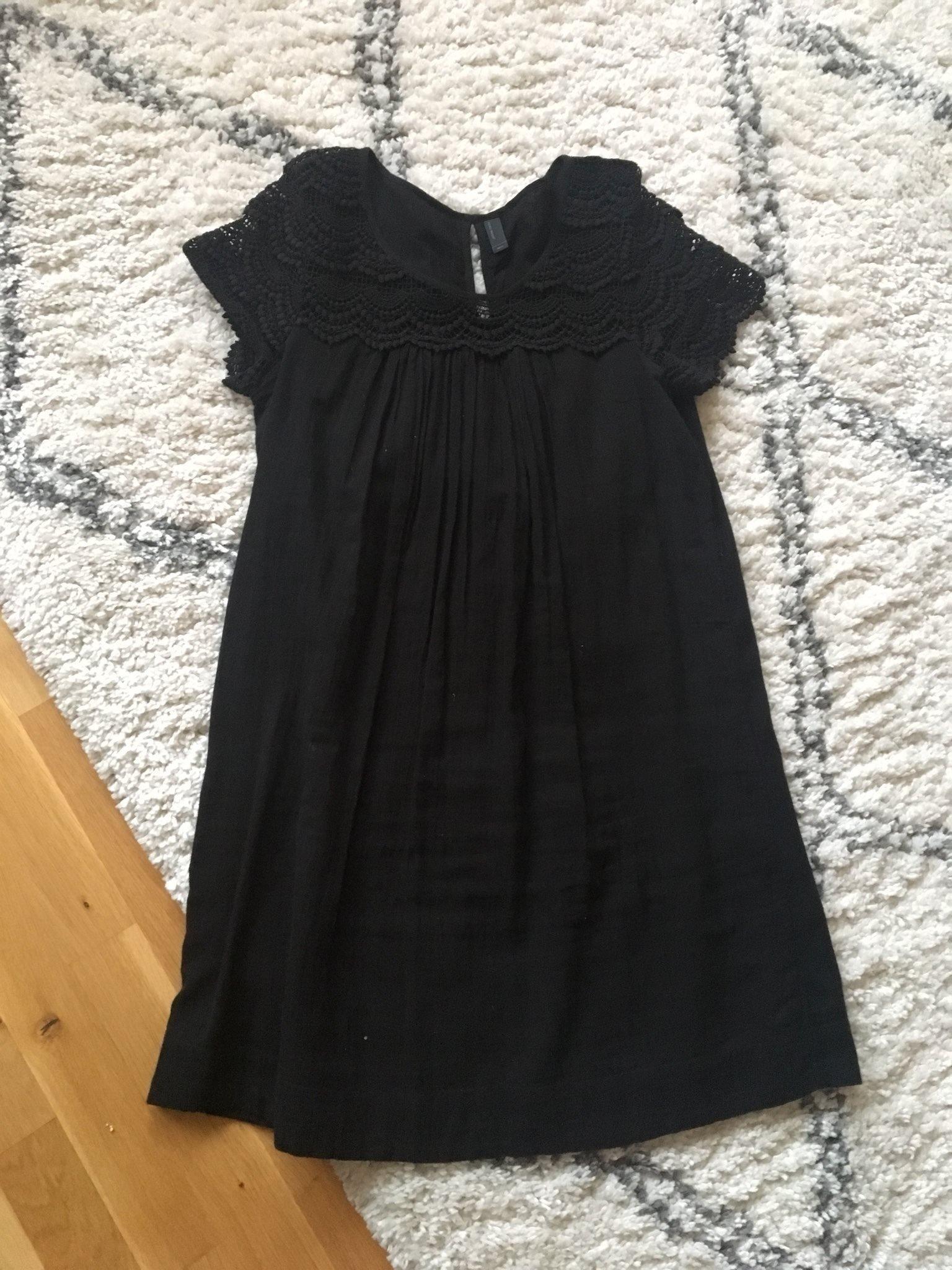 2c2562e19fe8 Festlig svart klänning från vero Moda stl s (346431411) ᐈ Köp på ...