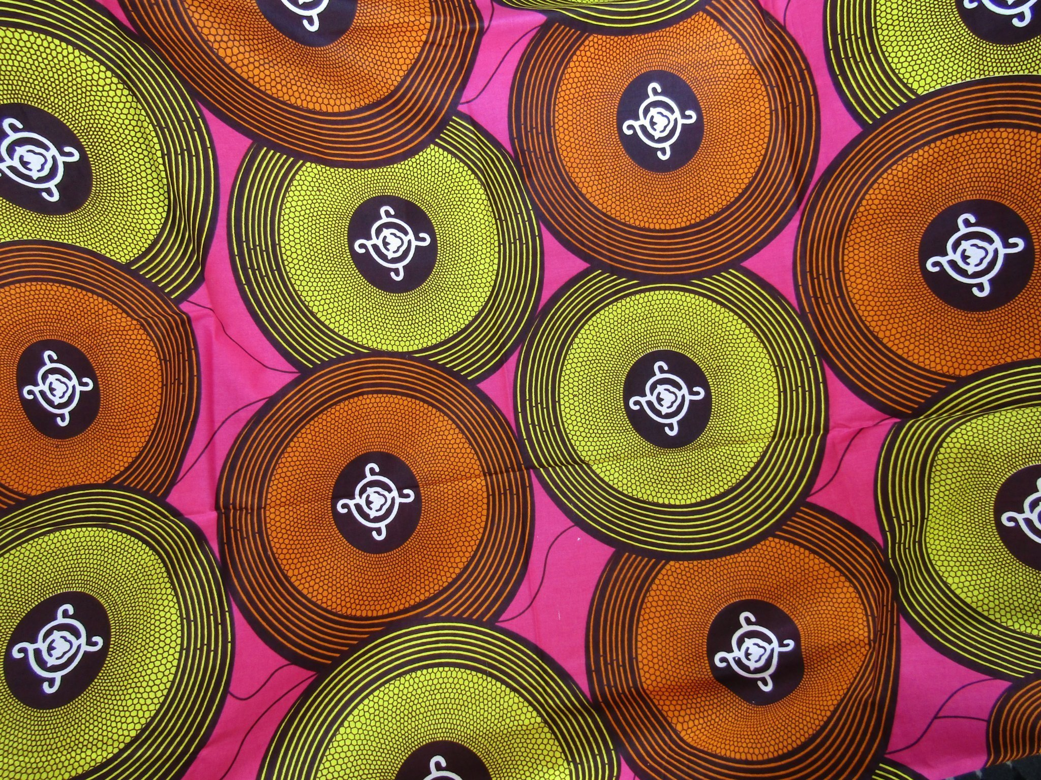 Populära Nytt tyg bomull Afrika unik design färg tryck m.. (364325881) ᐈ FP-36