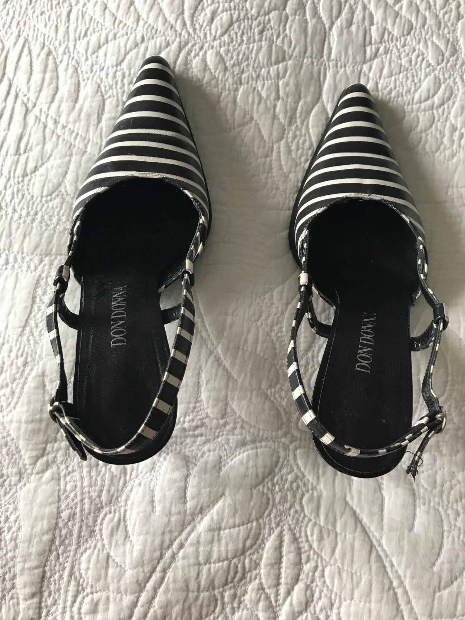 Don Donna skor i svart och vitt (368103492) ᐈ Köp på Tradera