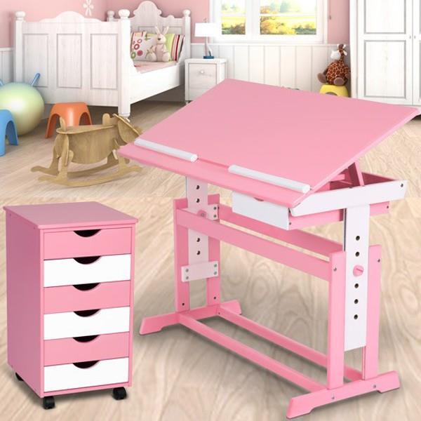 Skrivbord med hurts barn (rosa) på tradera.com   kontorsmöbler ...