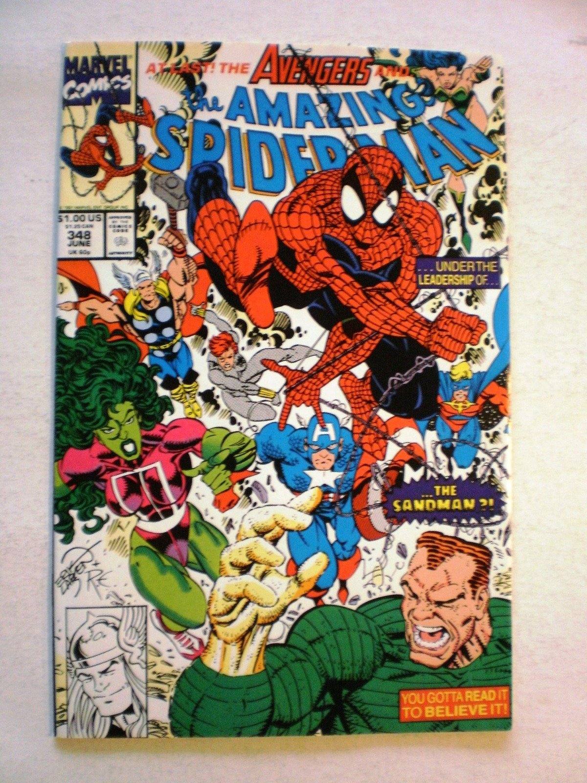 US Marvel - Amazing Spiderman vol 1 # 348 - VF
