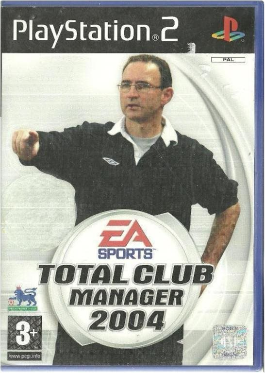 TOTAL CLUB MANAGER 2004   ( PS2 SPEL )