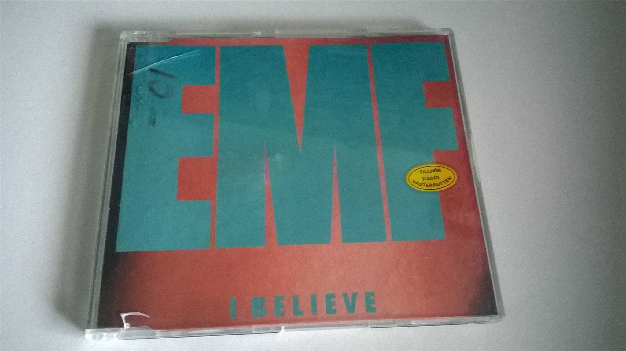 EMF - I Believe, CD