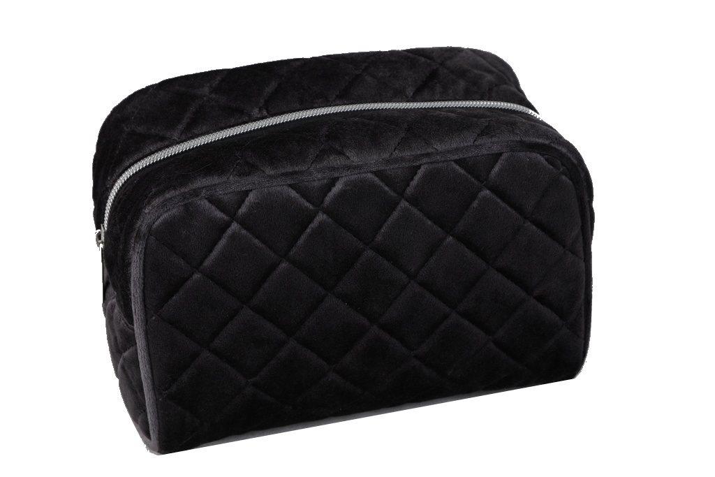 Necessär Väska sammet svart (341423096) ᐈ Fintinne på Tradera 4b3e8c5261468