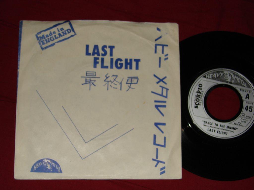 98bdf8d597c5 LAST FLIGHT - Dance to the music H.. (342088168) ᐈ swedishvinyl på ...