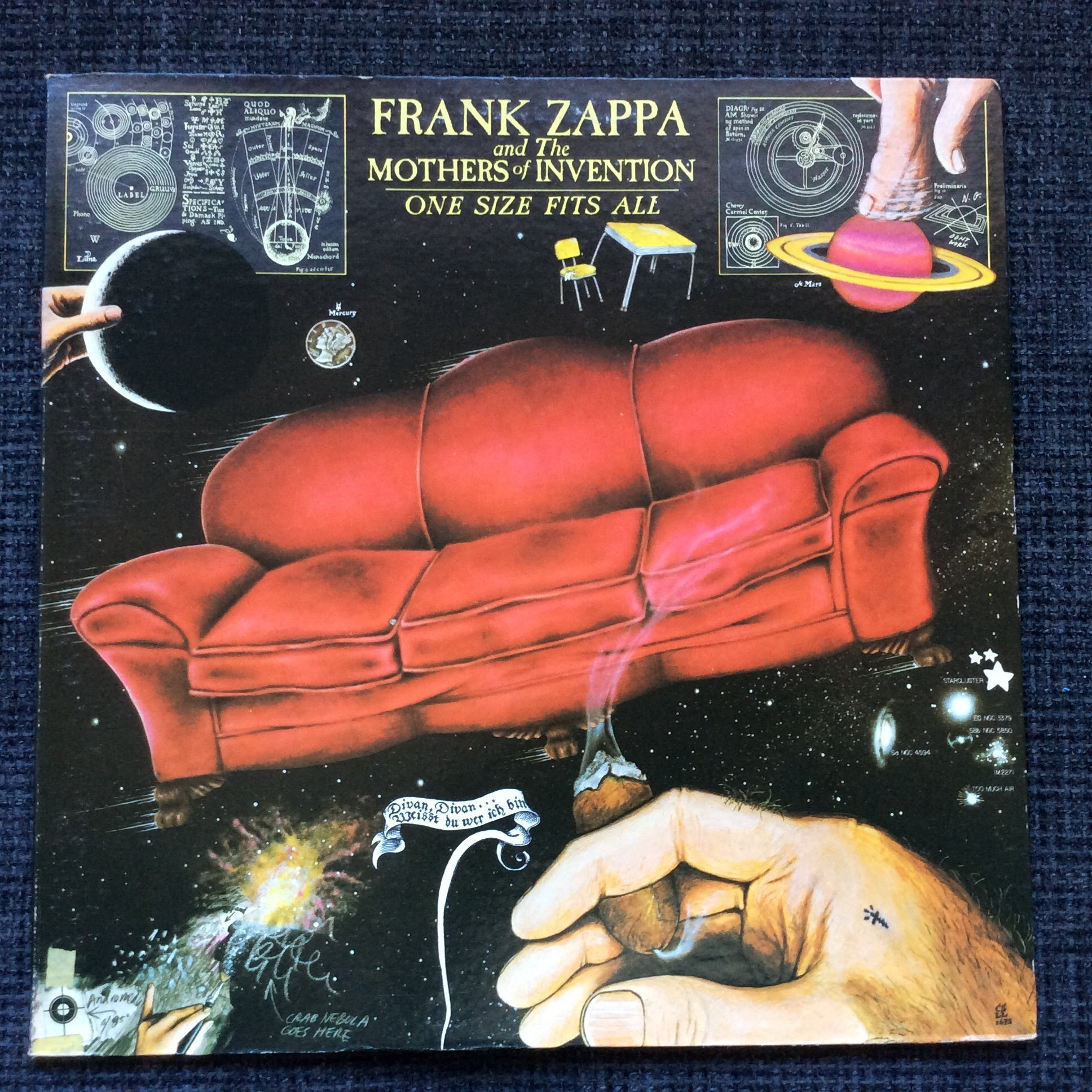 Frank Zappa Amp The Mothers Of Invention One Si