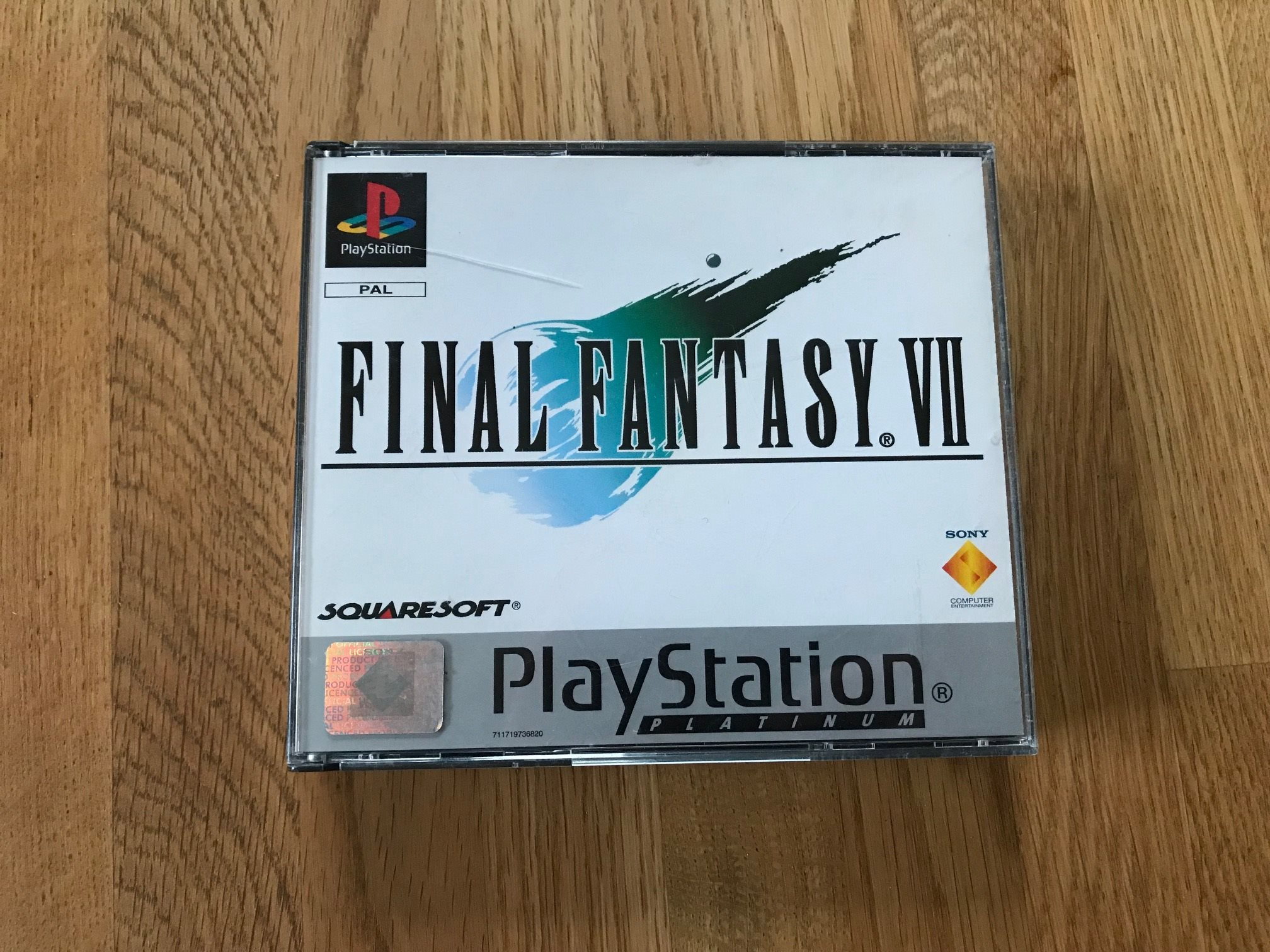 Spel PS1 - Final Fantasy VII