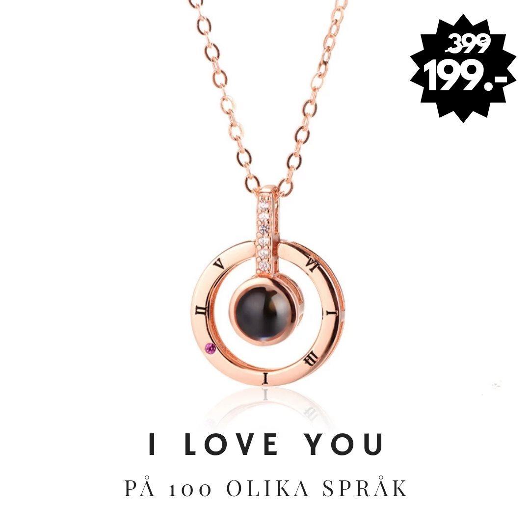 jag älskar dig halsband