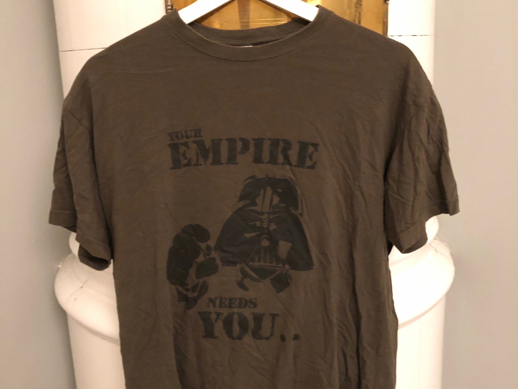 Bnwt Star Wars Homme Bourreau T-shirt blanc moyen