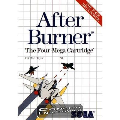 AFTER BURNER (komplett) till Sega Master System