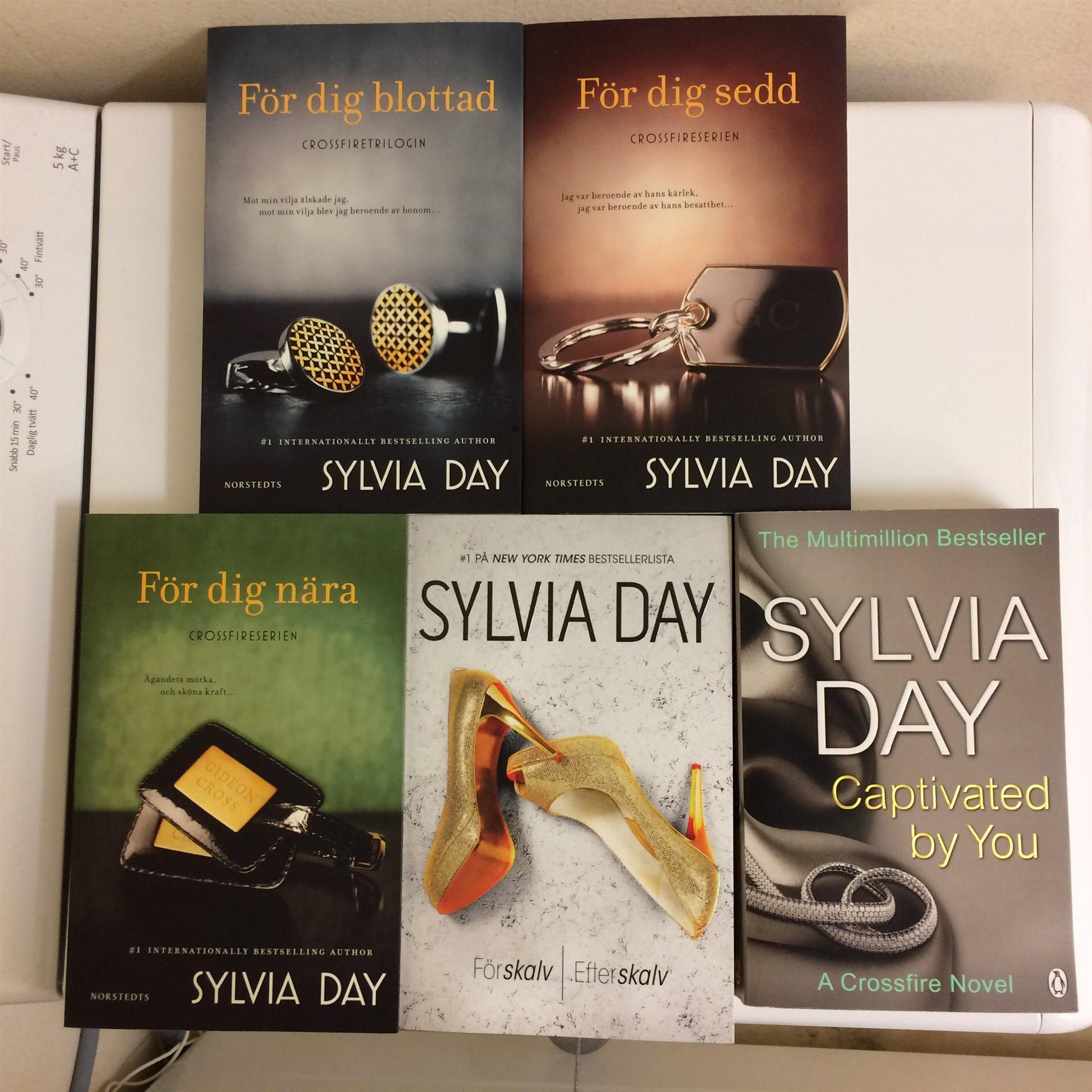 Crossfireserien 1 4 Sylvia Day för dig nära sedd blottad f¥ngad