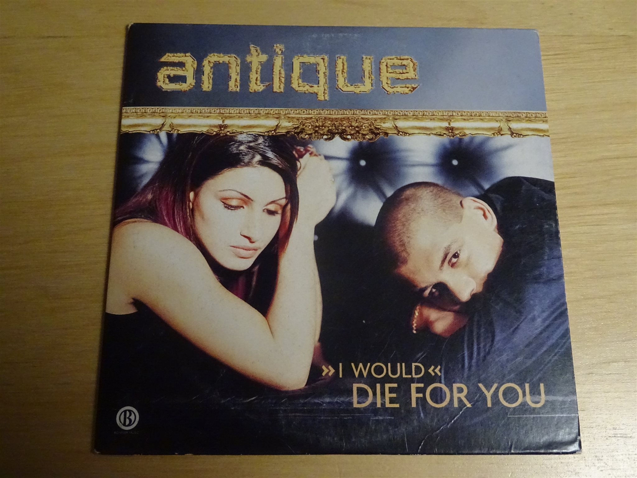 ANTIQUE (I would) Die for you Eurovision 2001 Grekland CD Singel