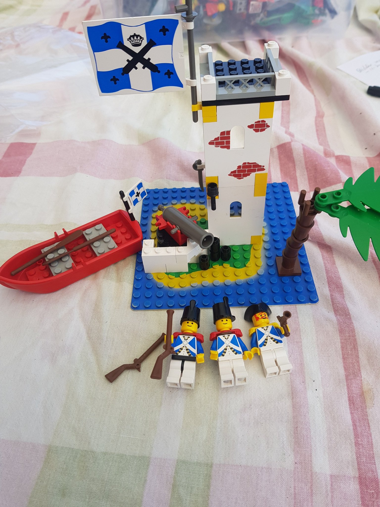 ++  lego pirater/pirate ej komplett++