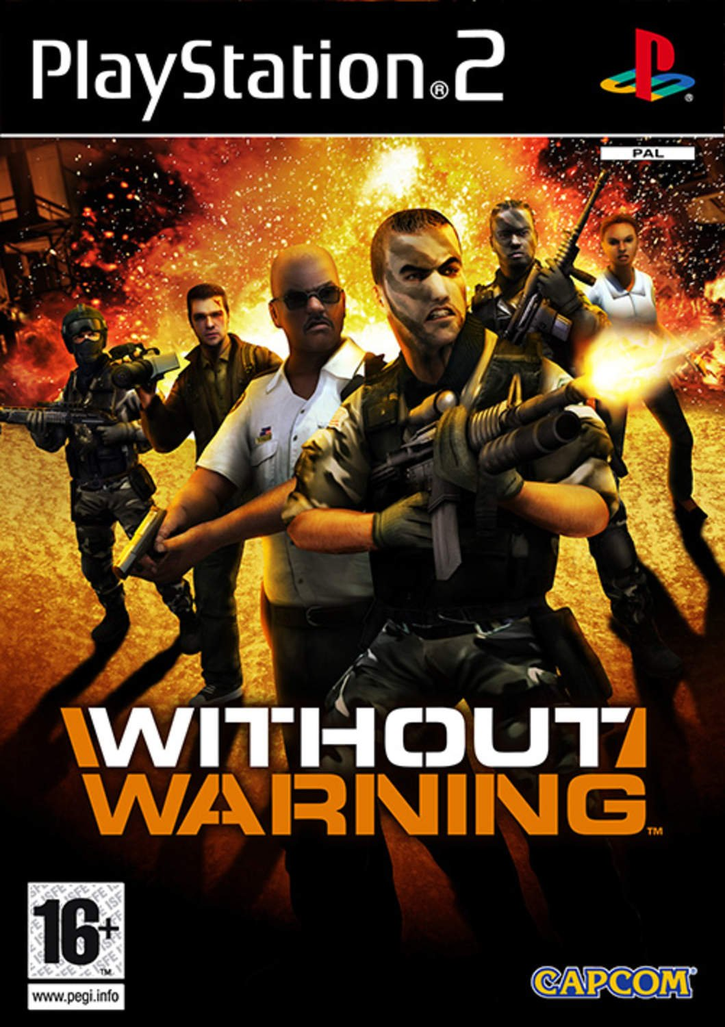 Without Warning (Ny & Inplastad) - Playstation 2