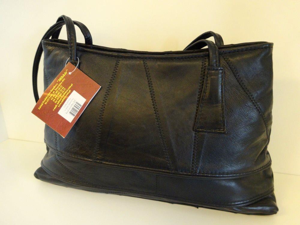 äkta läder handväska