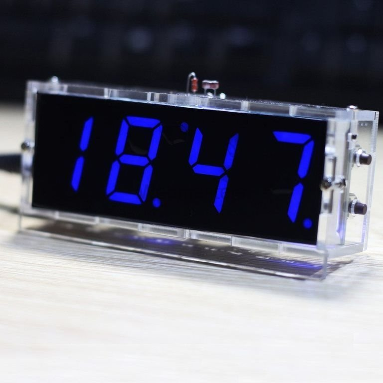 Klocka 4 Tecken DIY Kit - Blå (306606224) ᐈ Webmasters på Tradera a810975315a97