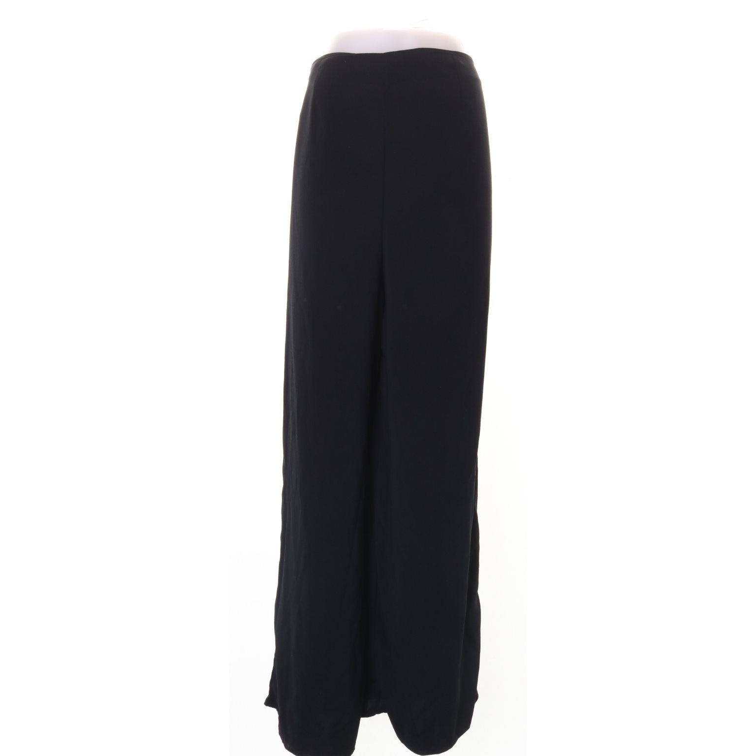Boohoo, Culottes, Strl: 50, Plus Jane Woven Wide Leg Trouser, Svart
