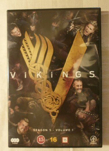 vikings säsong 5 dvd