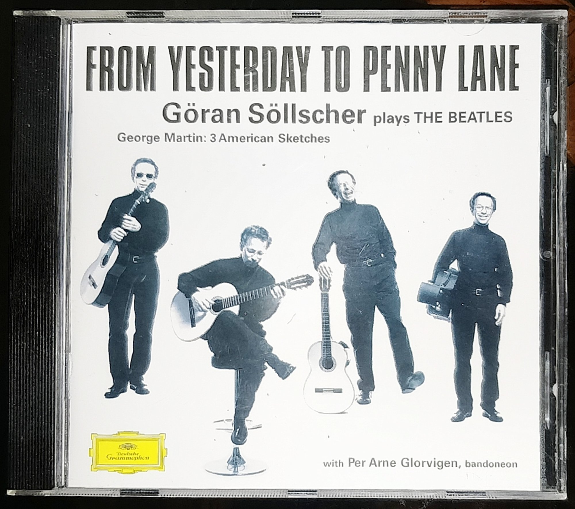 Göran Söllscher Plays The Beatles, From Yesterd.. (401644120) ᐈ Köp på  Tradera