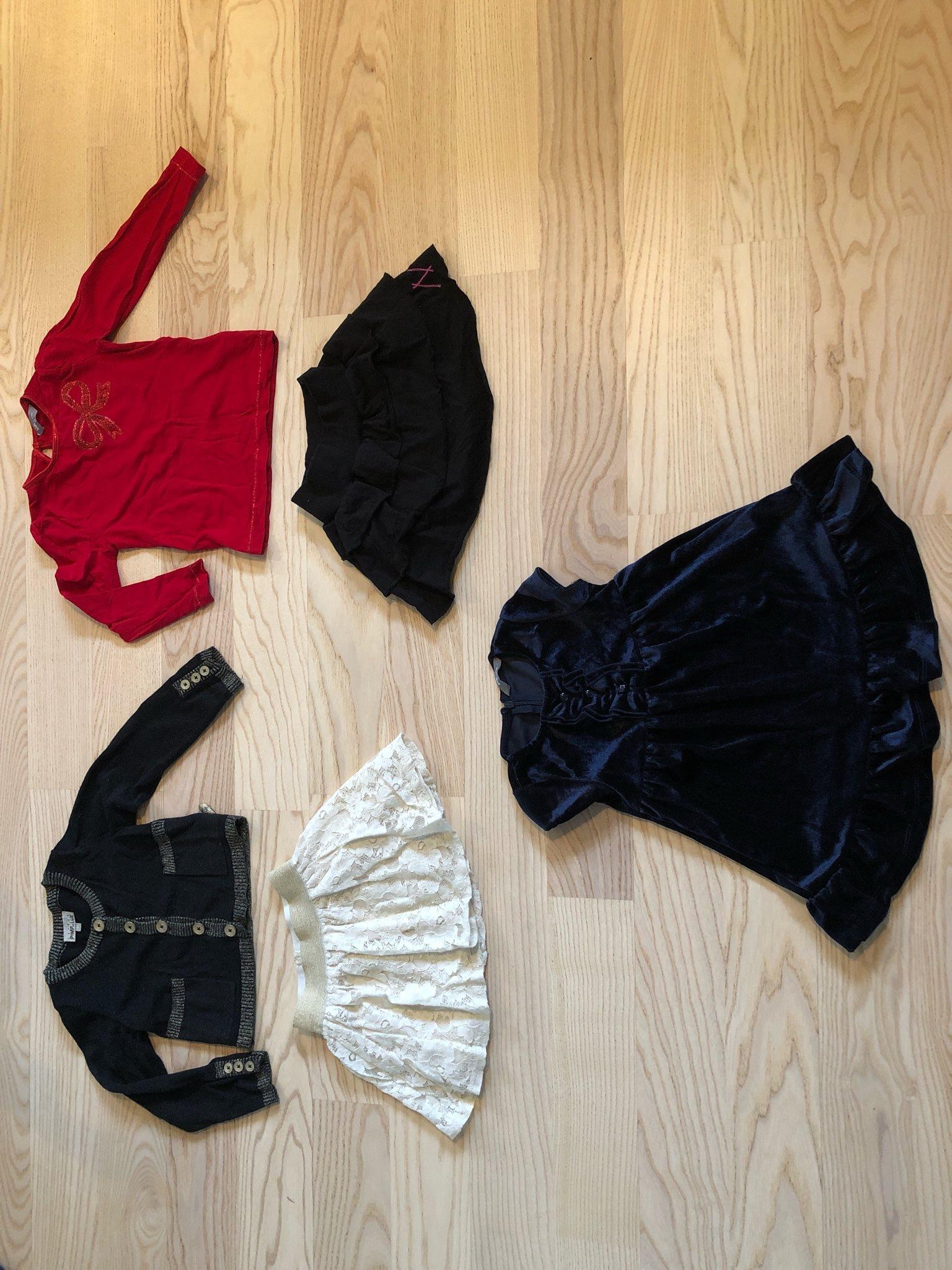 Klädpaket jul Nyår Fest Tjej 86 92 glitter spet.. (332762384) ᐈ Köp ... f97fddef8c8fd