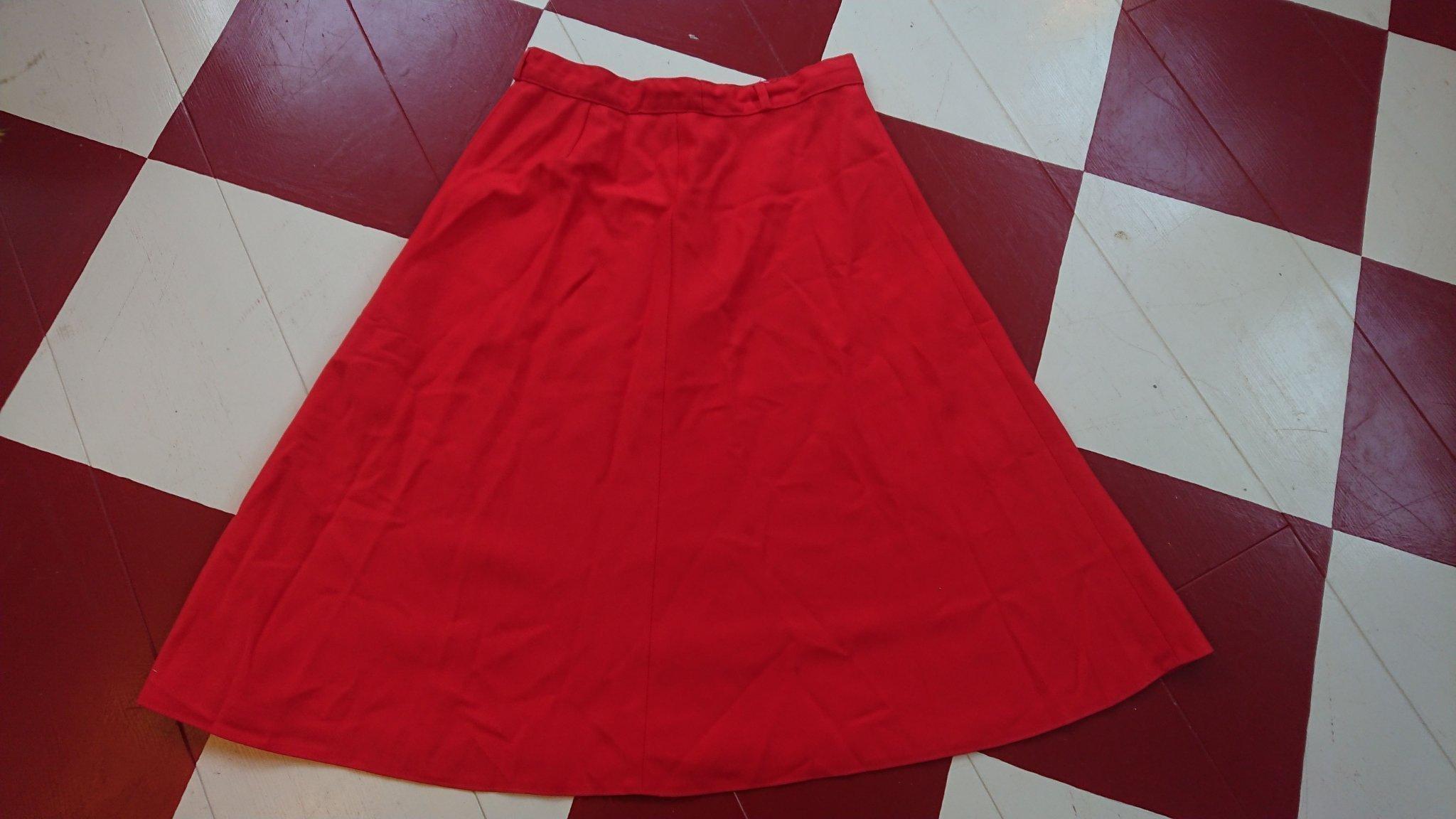 retro vintage 70 tal kjol