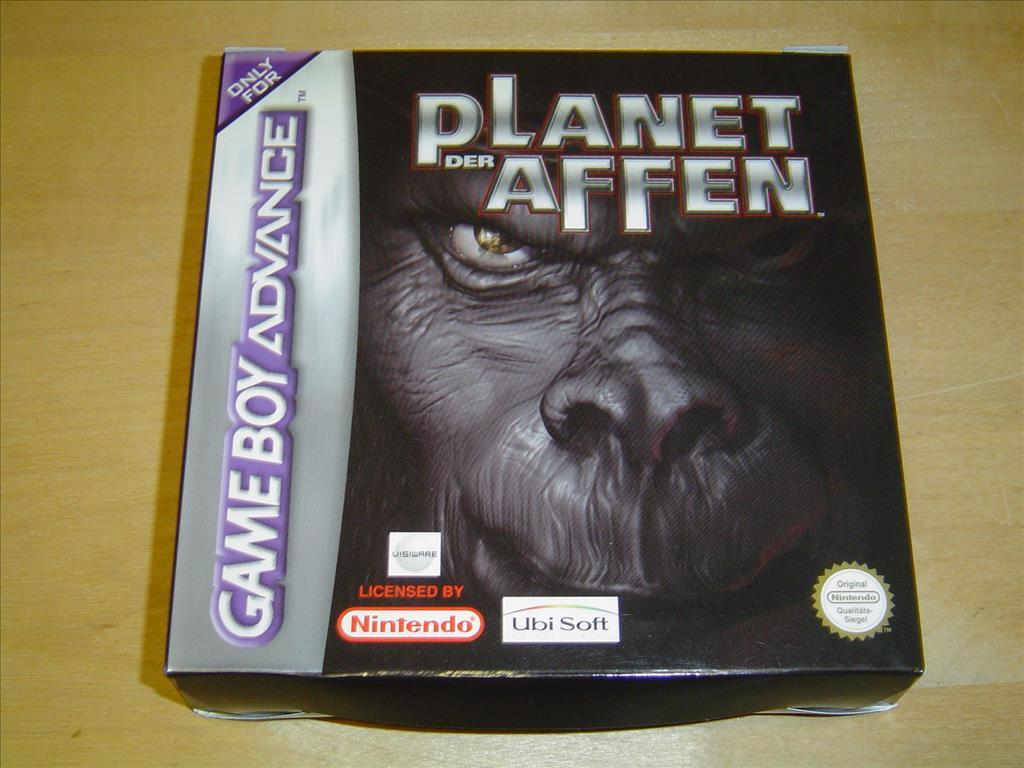 Planet of the Apes Nintendo Gameboy Game Boy Advance GBA *NYTT*