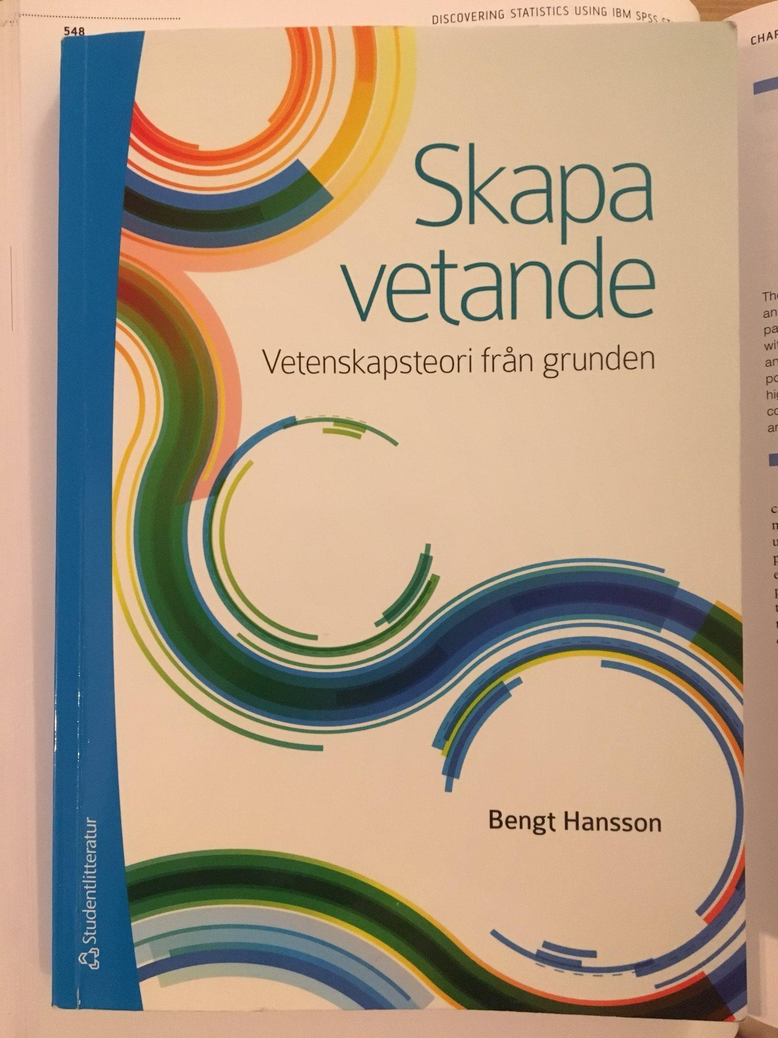 Bengt Hansson Hansson Hansson Skapa vetande vetenskapsteori från grunden 6ce71f