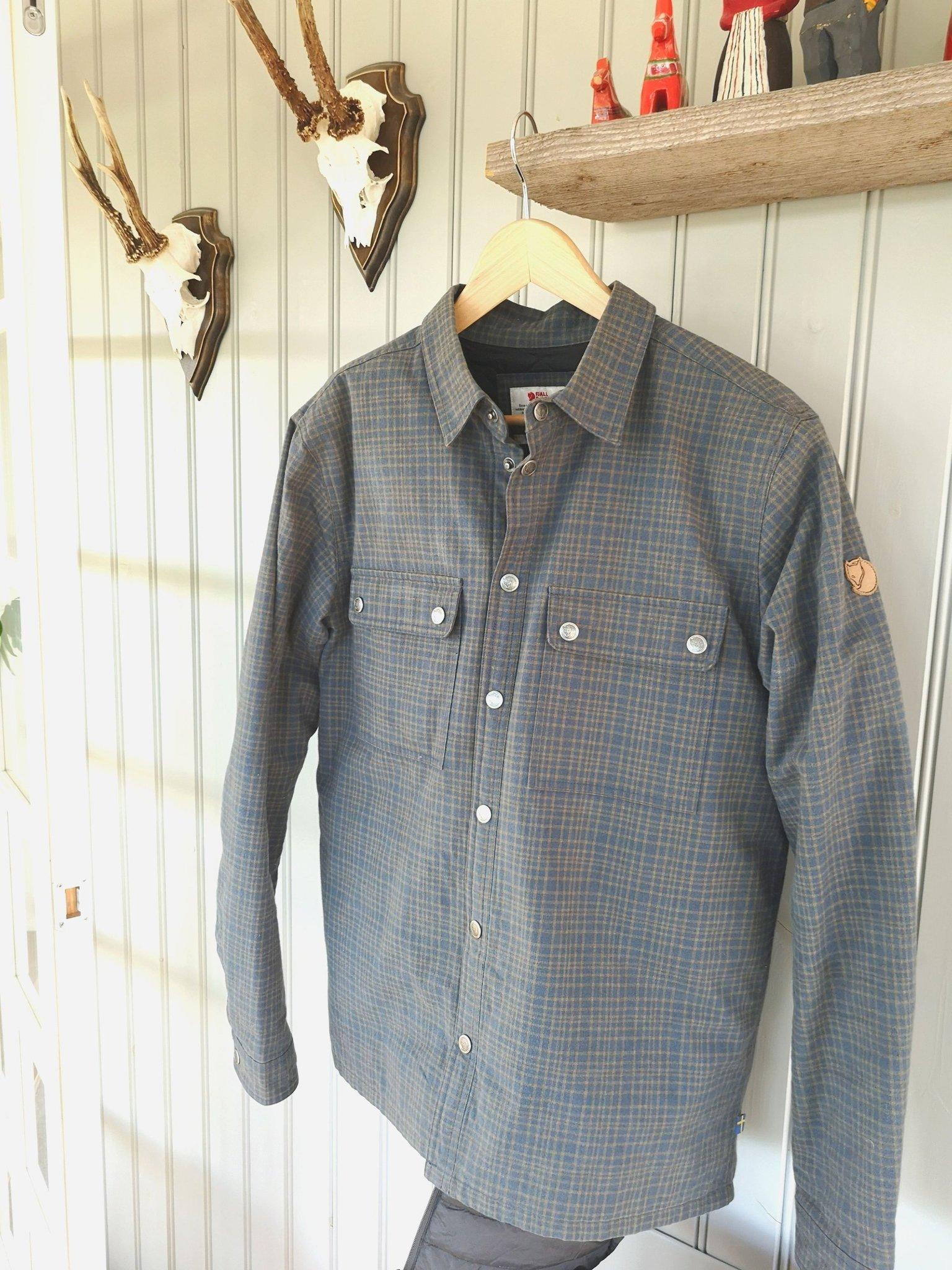 d3686108b91e Fjällräven Övik padded Shirt (M) (351117682) ᐈ Köp på Tradera