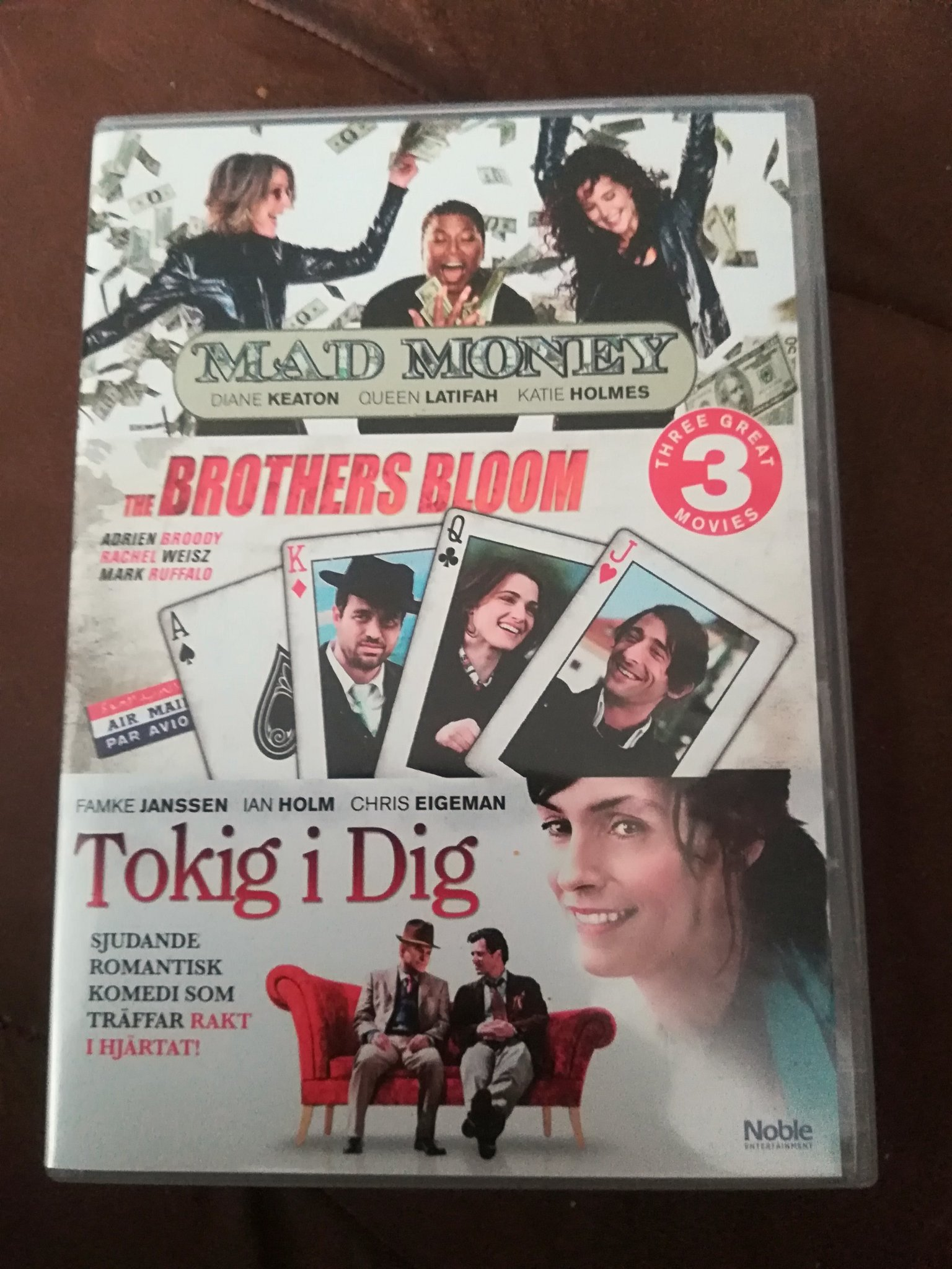 Mad money - The brothers Bloom - Tokig i dig