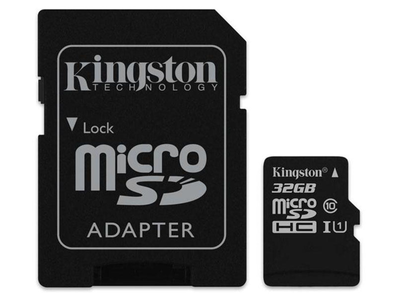 microSDHC 32gb Kingston CL10 UHS-I blister