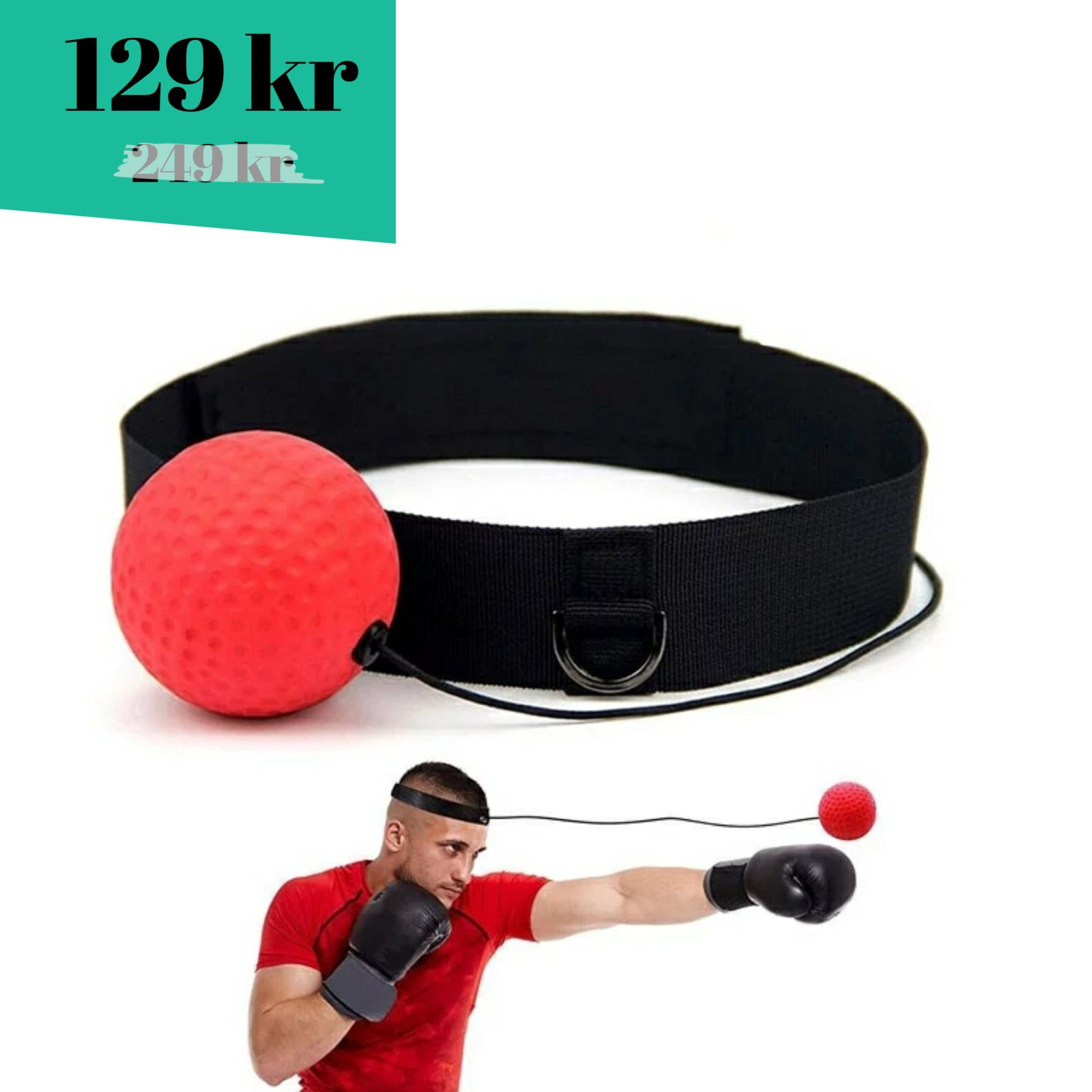 05681616320 Boxbollen, Box Bollen, boxningsboll, träning, t.. (343971196) ᐈ Köp på  Tradera