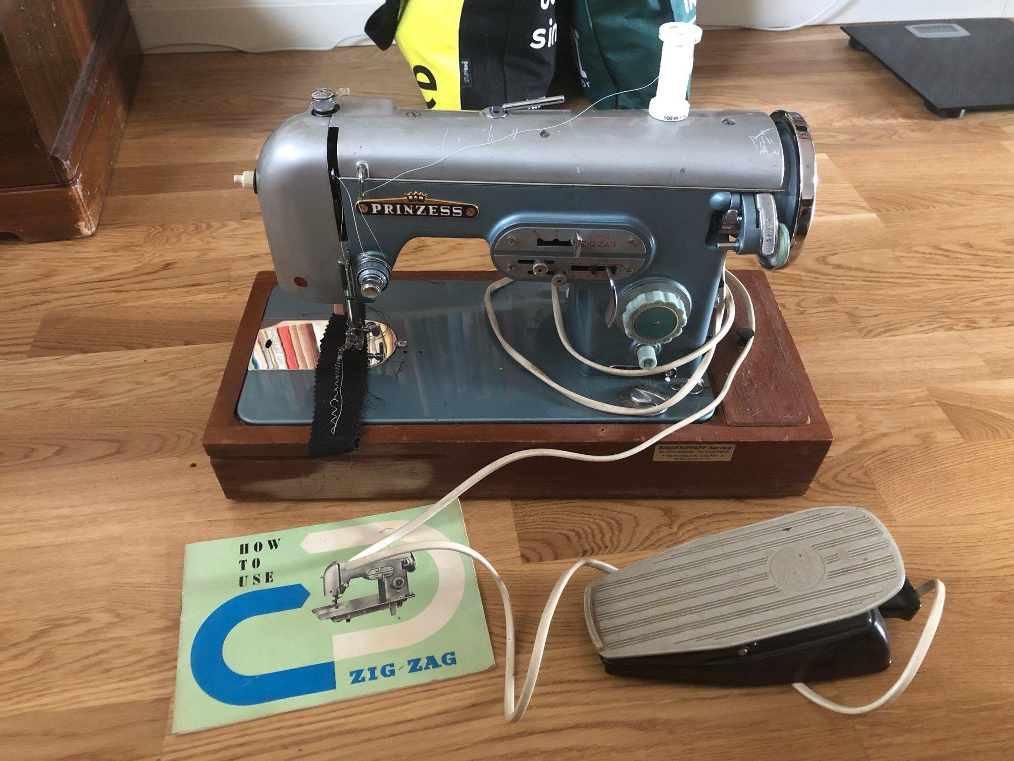 Vintage princess sewing machine