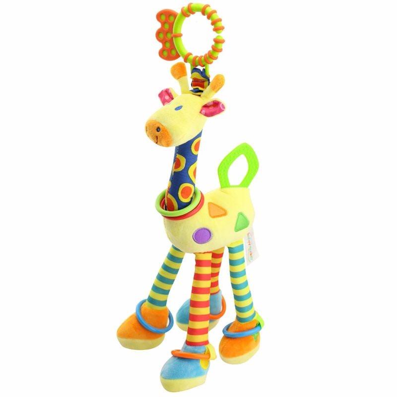 Baby Leksak Giraff Mjukdjur Med Ljud